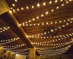 Lempučių, girliandų, burbulų nuoma