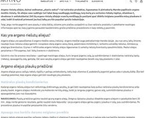 Loris - Visos Turinio Rinkodaros paslaugos (Lt / En) / Loris.lt / Darbų pavyzdys ID 1017029