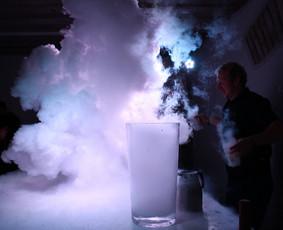 -196°C Azoto ir desertų šou