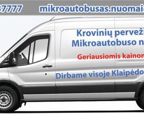 Krovinių pervežimas, baldų perkraustymas, transporto nuoma.