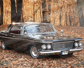Prabangus ir išskirtinis Chrysler Imperial 1963 m