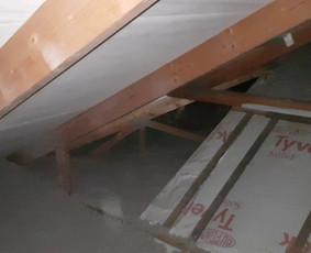 Šiltinimas ekovata, stogų, namų sandarinimas A, A+