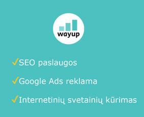 SEO specialistas | SEO paslaugos | web sprendimai | wayup.lt
