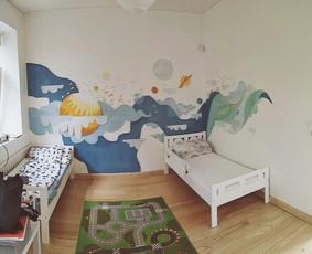 Vaikų kambario dekoras