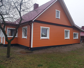 Viso namo renovacijos projekto parengimas su darbų sąmatomis ir energetiniu vertinimu. Tokio namo savininkas pagal atliekamus darbus gali gauti apie 7000 Eu kompensaciją