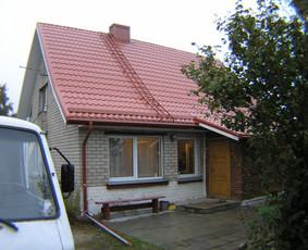 Tokio namo asbestinės stogo keitimas užsakovui kainuoja apie 3600 Eu. Gaunama parama 1800 Eu. Kadangi užsakovui teikėme medžiagas, tai dokumentų parengimas paramai gauti užsakovui nekainavo