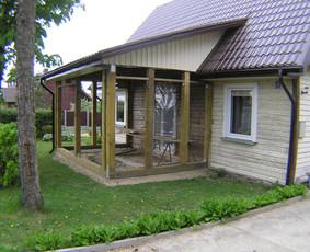 ES parama  namų renovacija asbestinių stogų keitimas statyba / Gintautas  Strelčiūnas / Darbų pavyzdys ID 1024289