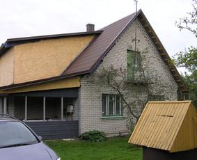 ES parama  namų renovacija asbestinių stogų keitimas statyba / Gintautas  Strelčiūnas / Darbų pavyzdys ID 1024297