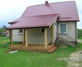 ES parama  namų renovacija asbestinių stogų keitimas statyba / Gintautas  Strelčiūnas / Darbų pavyzdys ID 1024301