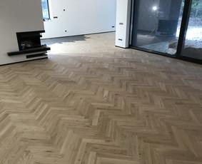 Parketo ir kitų medinių grindų įrengimas bei atnaujinimas / Stora Lenta / Darbų pavyzdys ID 1025353