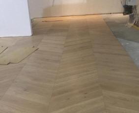 Parketo ir kitų medinių grindų įrengimas bei atnaujinimas / Stora Lenta / Darbų pavyzdys ID 1025369