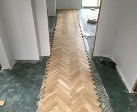 Parketo ir kitų medinių grindų įrengimas bei atnaujinimas / Stora Lenta / Darbų pavyzdys ID 1025443