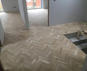 Parketo ir kitų medinių grindų įrengimas bei atnaujinimas / Stora Lenta / Darbų pavyzdys ID 1025447