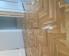 Parketo ir kitų medinių grindų įrengimas bei atnaujinimas / Stora Lenta / Darbų pavyzdys ID 1025449