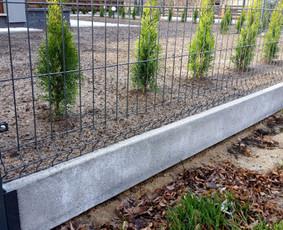 Tvoros pamatas, segmentine tvora, pamatukai, apkabos