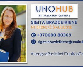 NT Brokeris ekspertas Šiauliuose Sigita Brazdeikienė