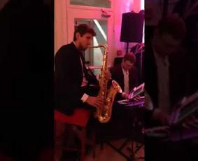 Saksofonistas Vilius Streckis, Profesionalių muzikantų grupė