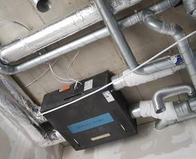Vėdinimo ir šildymo sistemos, Projektavimas bei montavimas
