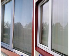 Kokybiškas langų - patalpų valymas (Visus metus)