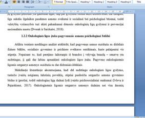 Konsultavimas rengiant rašto darbus / Gerda / Darbų pavyzdys ID 1065229