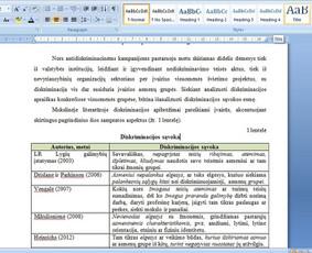 Konsultavimas rengiant rašto darbus / Gerda / Darbų pavyzdys ID 1065231