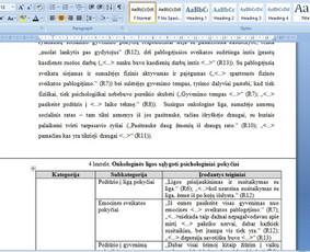 Konsultavimas rengiant rašto darbus / Gerda / Darbų pavyzdys ID 1065233