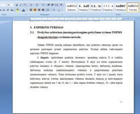 Konsultavimas rengiant rašto darbus / Gerda / Darbų pavyzdys ID 1065237
