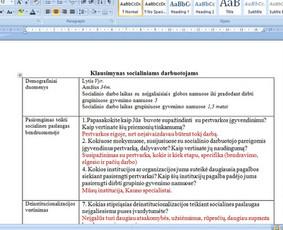 Konsultavimas rengiant rašto darbus / Gerda / Darbų pavyzdys ID 1065335