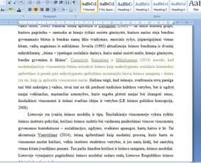 Konsultavimas rengiant rašto darbus / Gerda / Darbų pavyzdys ID 1065339