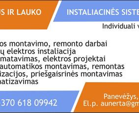 Elektros instal.,apsaugos sistemos,dokumentacija