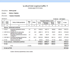 ES parama  namų renovacija asbestinių stogų keitimas statyba / Gintautas  Strelčiūnas / Darbų pavyzdys ID 1067813