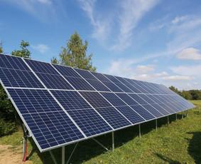 Saulės elektrinių montavimo darbai