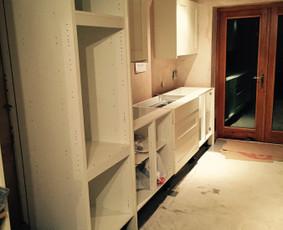 Vidaus darbai, voniu, virtuviu renovacijos