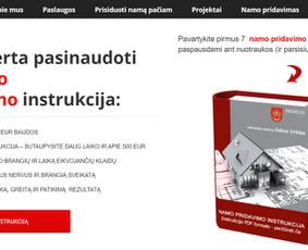 Galite namą prisiduoti patys - štai jums instrukcija - Namo pridavimas 123. www.statybosteise.lt - ir jūs jau patys galit prisiduot namą