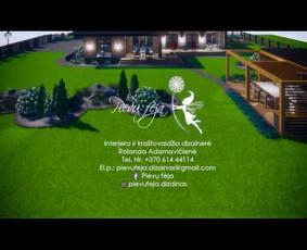 Aplinkos apželdinimo projektavimas / Rolanda / Darbų pavyzdys ID 1073783
