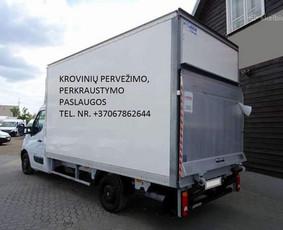 Perkraustymas Kaune, krovinių, baldų pervežimas / Kraustymas Kaune / Darbų pavyzdys ID 1074593