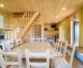Nuomojamas namelis ir pirtis prie Arino ežero!