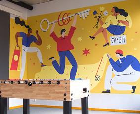 Piešiniai ant sienų