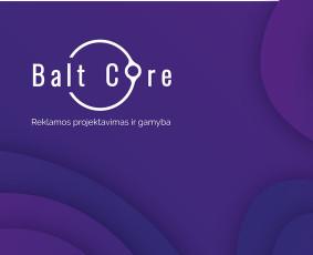 Balt Core - Spauda / grafinis dizainas / reklamos paslaugos