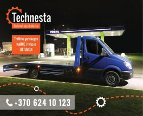 Techninė pagalba kelyje/Traliukas/Tralas/Kaunas ir visa LT