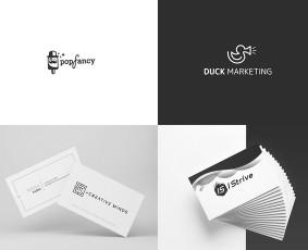 Logotipų bei kitų dizaino darbų kūrimas