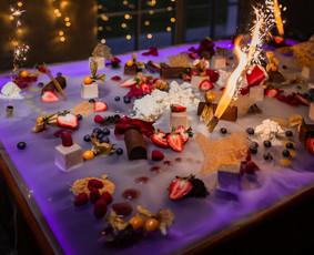 Bubble Tower / Mobilus baras / Šampano taurių piramidė