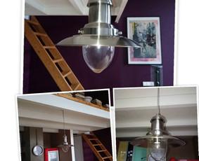 Smulkūs elektros darbai: šviestuvo pakabinimas ir pajungimas lofte.