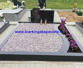 Kapo dengimas plokšte, paminklai kapams, kapų tvarkymas / TVARKINGA KAPAVIETĖ / Darbų pavyzdys ID 1094291