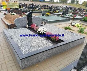 Kapo dengimas plokšte, paminklai kapams, kapų tvarkymas / TVARKINGA KAPAVIETĖ / Darbų pavyzdys ID 1094297