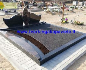 Kapo dengimas plokšte, paminklai kapams, kapų tvarkymas / TVARKINGA KAPAVIETĖ / Darbų pavyzdys ID 1094301