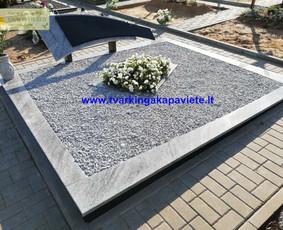 Kapo dengimas plokšte, paminklai kapams, kapų tvarkymas / TVARKINGA KAPAVIETĖ / Darbų pavyzdys ID 1094311