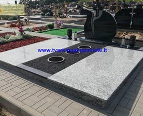 Kapo dengimas plokšte, paminklai kapams, kapų tvarkymas / TVARKINGA KAPAVIETĖ / Darbų pavyzdys ID 1094313