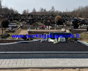 Kapo dengimas plokšte, paminklai kapams, kapų tvarkymas / TVARKINGA KAPAVIETĖ / Darbų pavyzdys ID 1094319