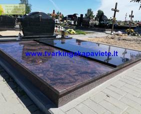 Kapo dengimas plokšte, paminklai kapams, kapų tvarkymas / TVARKINGA KAPAVIETĖ / Darbų pavyzdys ID 1094323
